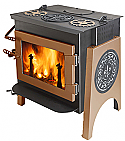 IDEAL STEEL HYBRID WOODSTOVE