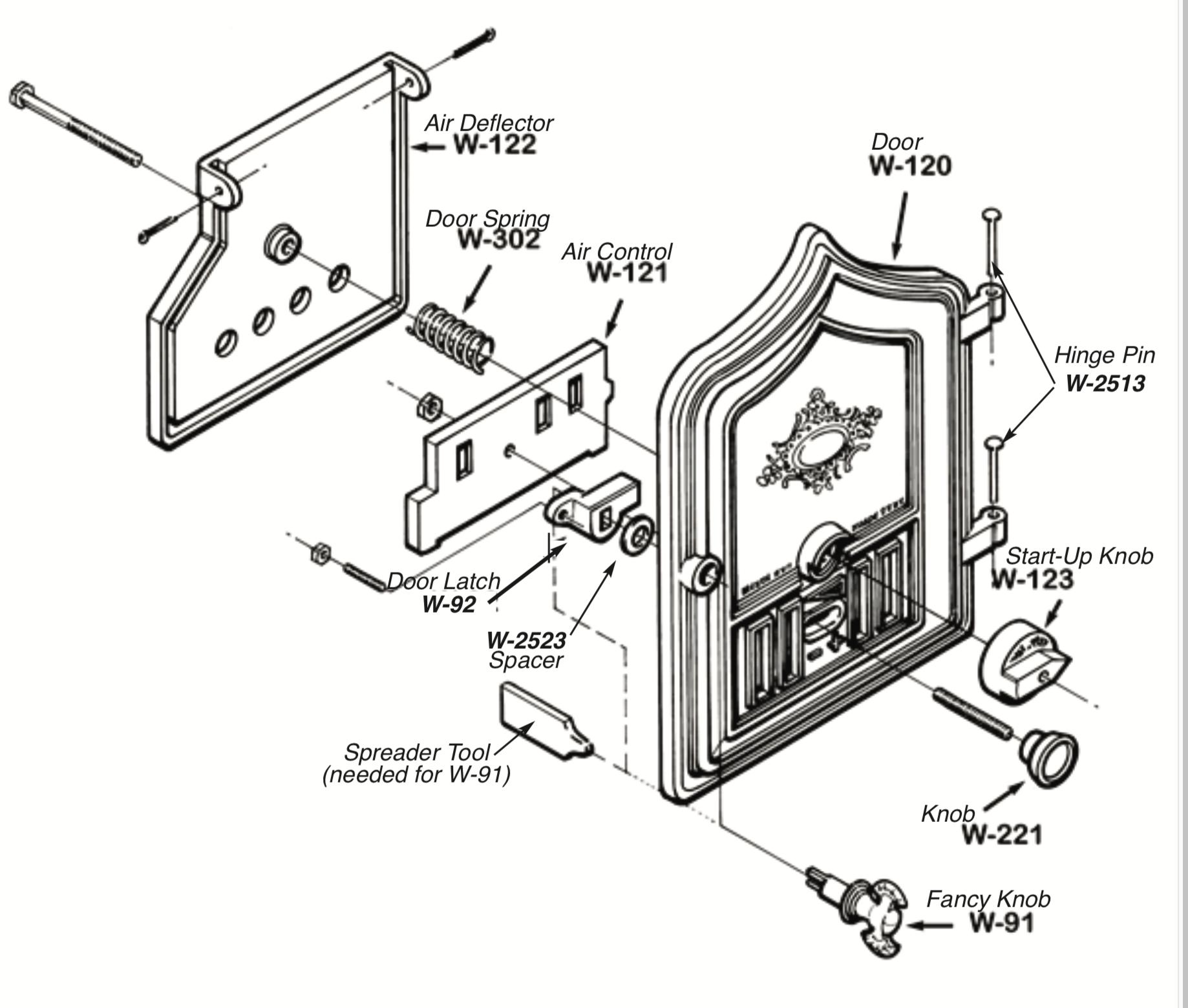 Classic/Fireview 201 Door Parts