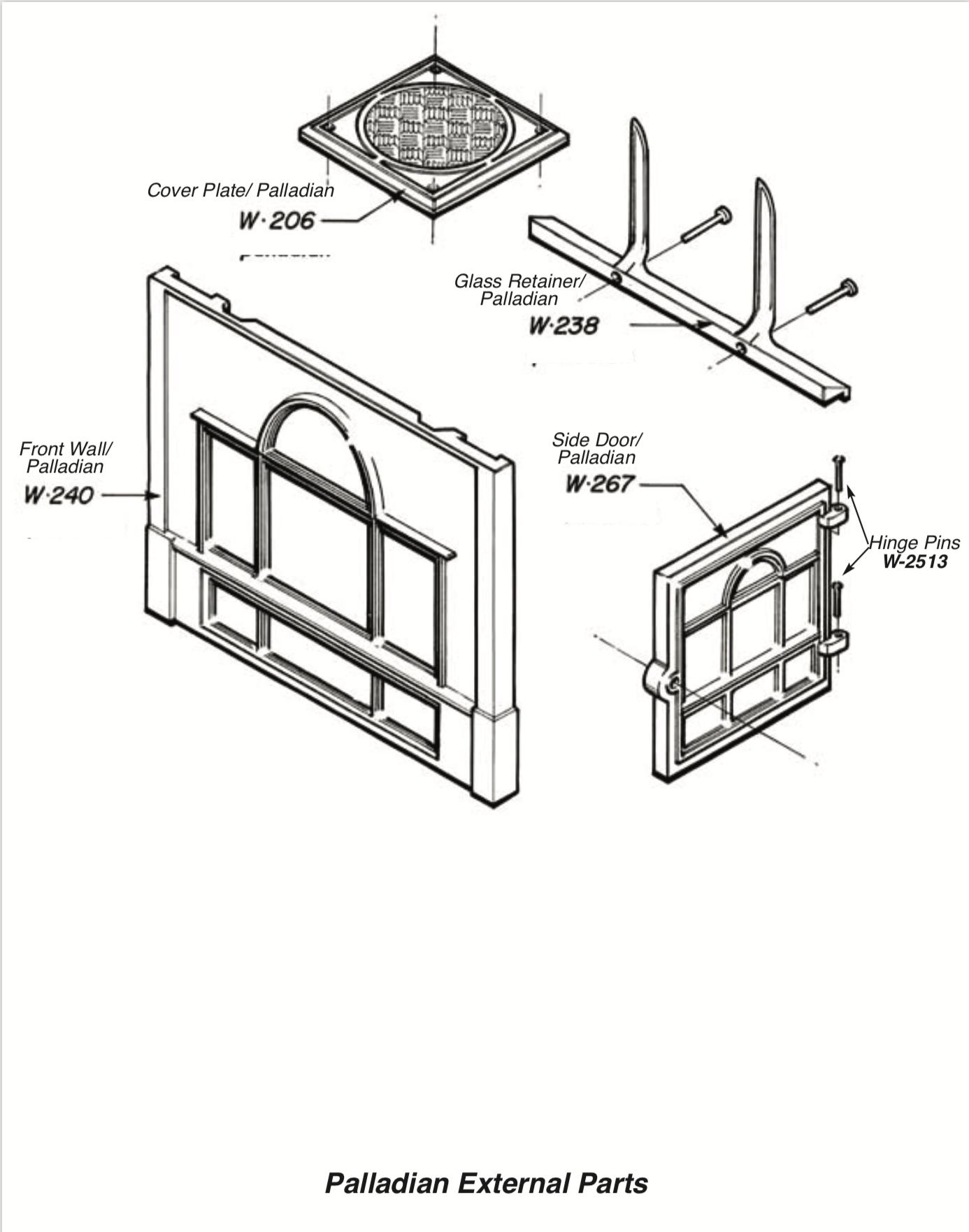Palladian External Parts