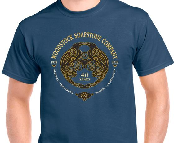 40th Aniversary T-Shirt - Blue