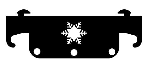 Ideal Steel Snowflake Tool Set Hanger
