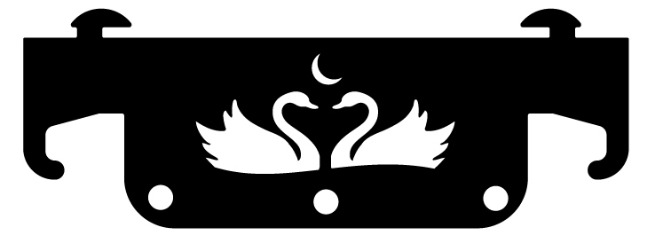 Ideal Steel Swan Tool Set Hanger