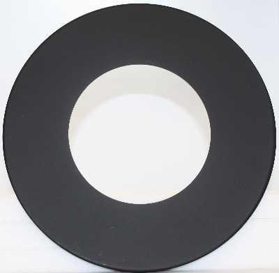 """8"""" 22ga Single Wall Pipe Trim Collar"""